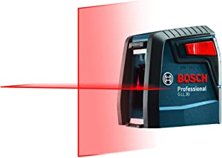 Bosch Self-Leveling Cross-Line Red-Beam Laser Level GLL 30