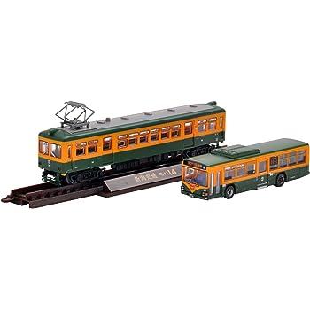 トミーテック ジオコレ 鉄道コレクション 新潟交通 かぼちゃ電車ラッピングバス モハ14電車 セット 268857