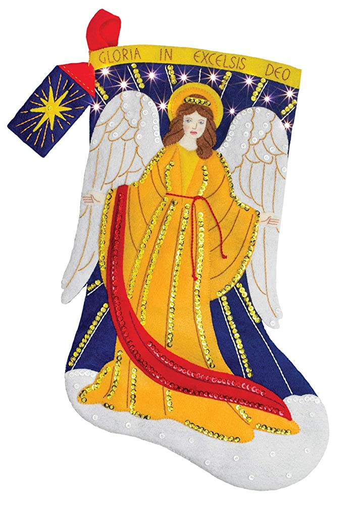 Bucilla 86965E Felt Applique Kit, Heavenly Messenger