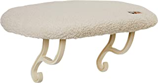 K&H Thermo-Kitty Sill, Fleece 14x24in 6w - Heated cat Bed for Window sill mounting