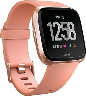 Reloj inteligente Fitbit Versa, talla única (incluye bandas S y L)