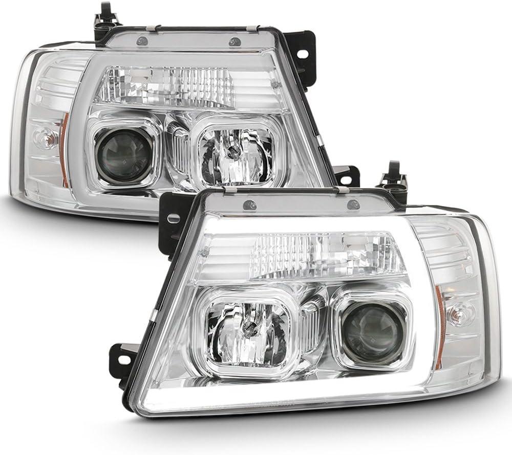 ACANII - For 2004-2008 Ford 公式通販 F150 LOBO LED Pickup Housing Chrome 低廉