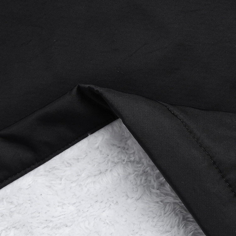 lcziwo Oversized Fleece Hooded Jacket for Women Raincoat Waterproof Coat Outdoor Warm Jackets Windbreaker Coat