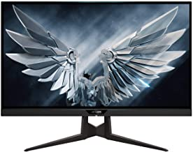 "Gigabyte FI27Q-P 27"" Frameless Gaming Monitor, QHD 1440p, 95% DCI-P3 Color Accurate IPS Panel, 1ms 165 Hz, HDR, G-SYNC Com..."
