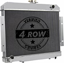 Primecooling 62MM 4 Row Core Aluminum Radiator for Jeep CJ5, CJ6, CJ7 1972-86/Commando J10 Cherokee 1973-75