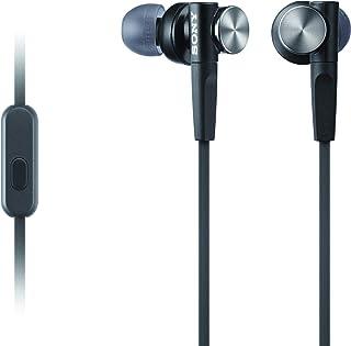 Audífonos Sony MDRXB50AP Extra Bass -Negro