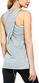 SEVEGO Women's Athletic Tank Raceback Running Yoga Shirts Workout Crop Tops Gym Sports Clothes