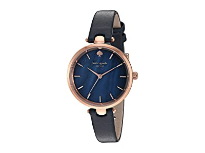 Kate Spade New York Holland Watch KSW1157 (Navy/Rose Gold) Watches