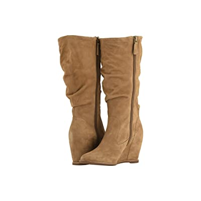 Johnston & Murphy Nicole (Camel Suede) Women