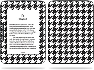 MightySkins Skin Compatible With Barnes & Noble NOOK GlowLight 3 (2017) - Houndstooth | Protective, Durable, and Unique Vinyl Decal wrap cover | Easy To Apply, Remove | Made in the USA