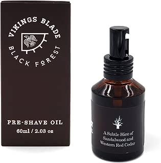 VIKINGS BLADE Pre Shave Oil, Black Forest (Sandalwood & Western Cedar)