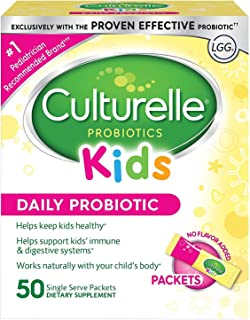 Culturelle Kids Daily Probiotic Packets Dietary Supplement | Helps Support a Healthy..