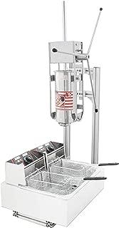 5L Spanish Churro Machine Frying Bread Sticks Maker includes 12L Electric Fryer (220V AU/EU/UK plug)