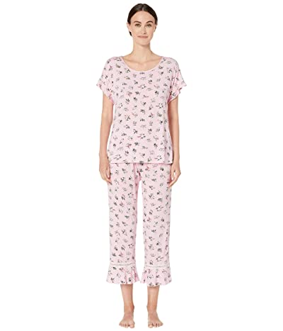 Kate Spade New York Modal Jersey Long Pajama Set (Bouquet) Women