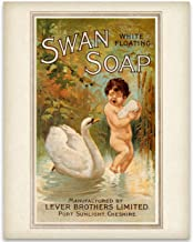 Swan Soap Ad - 11x14 Unframed Art Print - Makes a Great Vintage Ad Decor Under $15