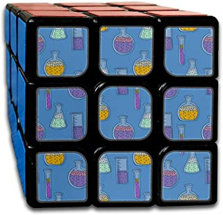 Custom 3x3 A Speed Cube 3x3 Best Brain Training Toys 3x3x3 Fashion Creative Hourglass Ornaments Speed Cubes 3x3 Party Game for Boys Girls Kids Toddlers-55mm