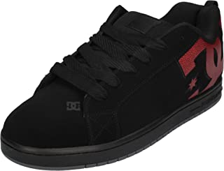 DC Sneaker - Court Graffik 300529 Black Red Print, Taglia:50 EU