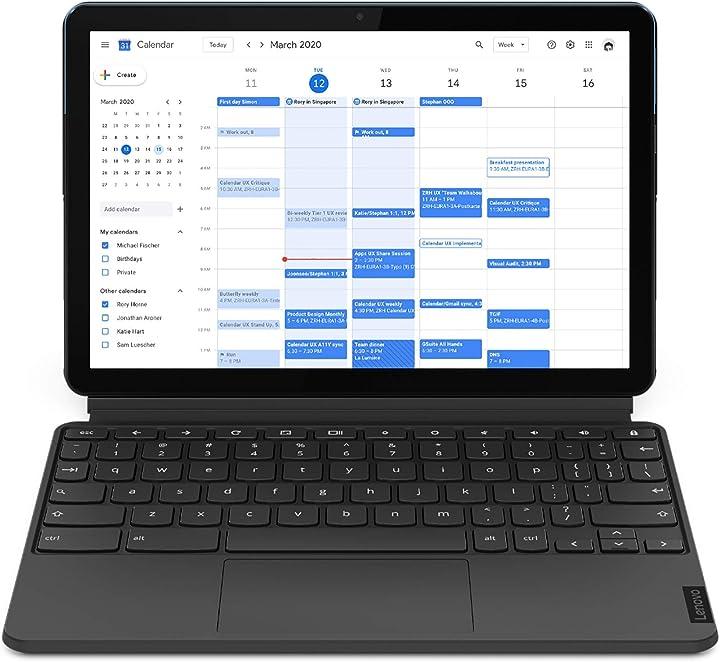 Chromebook lenovo ideapad 2-in-1 - display 10.1`` full hd (processore mediatek p60t storage 128gb ram 4gb B08SR9TM3J