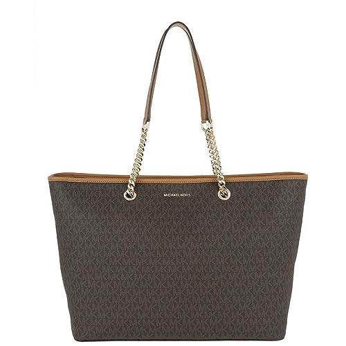 brown michael kors handbags