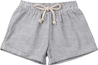 Baby Girl Boy Cotton Drawstring Shorts Harem Pants Joggers Elastic Waist Bottoms Bloomers