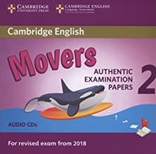 Cambridge English Young Learners 2 for Revised Exam from 2018 Movers Audio CDs: Authentic Examination Papers