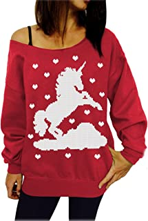 mycherish女性用ハロウィン印刷オフ肩プルオーバーSlouchyスウェットシャツ