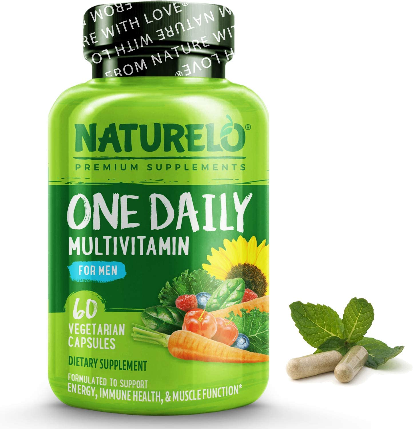 NATURELO One Daily Multivitamin for with Men Vitamins - Minera Max Finally popular brand 46% OFF