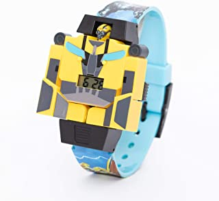 Hasbro Transformer Boys Transforming Head Digital Wristwatch - SA8124 Transformer A