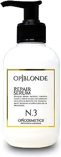 OP BLONDE REPAIR SERUM N3, siero riparatore in crema, prodotto professionale per capelli danneggiati, 250 ml, trattamento ...