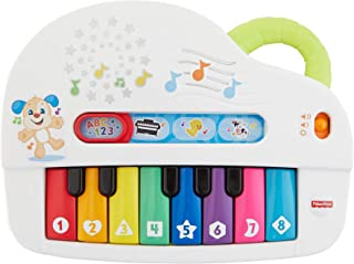 Fisher-Price Laugh & Learn Silly Sounds Light-up Piano (Renewed)