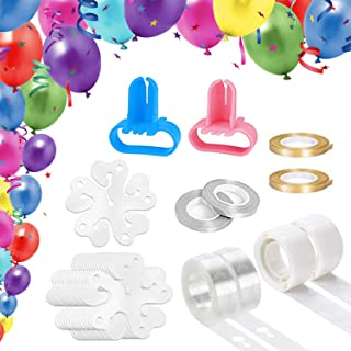 100pcs Wedding Party Events Accessory Useful Ties 744-1 Balloon Clear Clips 9
