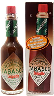 McIlhenny & Co., Chipotle Tabasco Sauce, 57ml/1.9oz.,{Imported from Canada}
