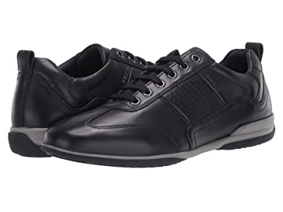 Geox Timothy (Navy Smooth Leather) Men