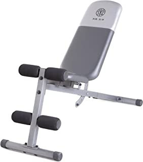 Gold's Gym Xr 5.9 Slant Bench Included to Help You Perform the Exercises More Effectively! Gives You Chiseled Abs and a Powerful Core. A Total Exercise Equipment for Both Men and Women!