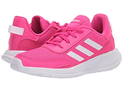 adidas Kids Tensaur Run (Little Kid/Big Kid) (Shock Pink/White/Light Granite) Girl