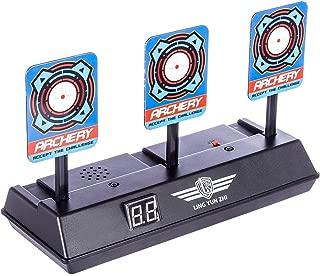 Topways® Electronic Digital Scoring Auto Reset Pistole Bullet Shooting Target for Nerf Pfeile Toy Guns N-Strike Elite/Mega/Rival Series