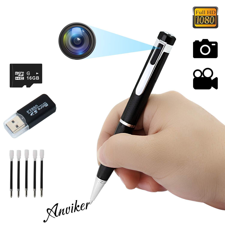 Hidden Spy Camera Pen Full HD 1080P Cam  DVR Video Recording With MIC UK HH