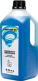 domocamp WC Líquido Disolvente WC químico Aguas negras Aqua kem 2LT