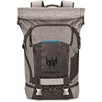 Acer Predator Water Resistant Lightweight Rolltop Gaming Backpack, Fits and Protects Up to 15.6