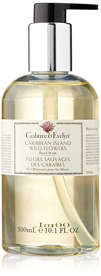 クラブツリー&イヴリン Caribbean Island Wild Flowers Hand Wash 300ml/10.1oz並行輸入品