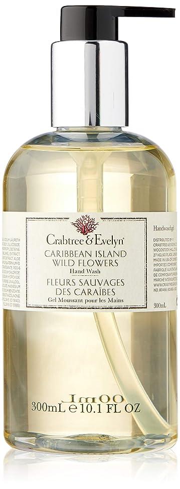 ポーズガムエンディングクラブツリー&イヴリン Caribbean Island Wild Flowers Hand Wash 300ml/10.1oz並行輸入品