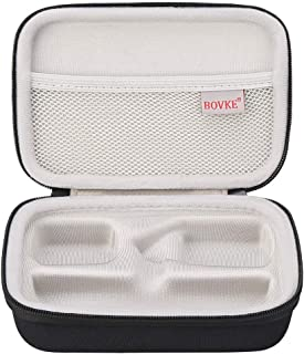 BOVKE Travel Case for Digital Hanging Luggage Scale - Includes Mesh Pocket for Accessories, Black