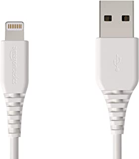 Sponsored Ad - AmazonBasics MFi-Certified Lightning to USB A Cable for Apple iPhone and iPad - 4 Inches (10 Centimeters) -...