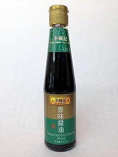 李錦記(リキンキ) 香味醤油(コウミショウユ) Ssasoned Soy Sauce 蒸魚鼓油 410ml 業務用