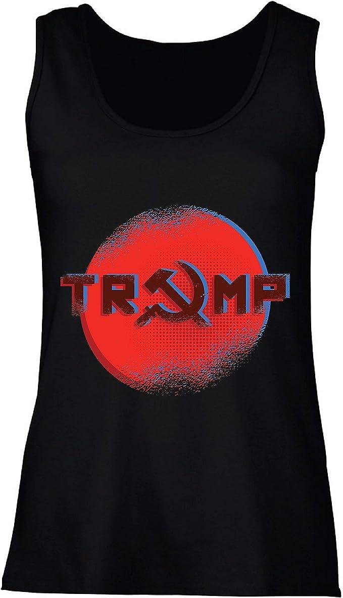 lepni.me Camisetas sin Mangas para Mujer Trump Putin Rusia ...