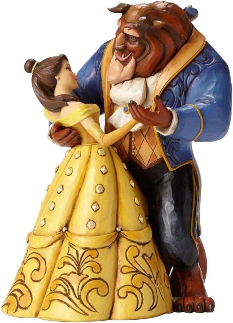 Disney Traditions, Figura de Bella y Bestia bailando de