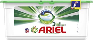 Ariel 3in1 PODS, Washing liquid capsules, Original Scent, 30 counts