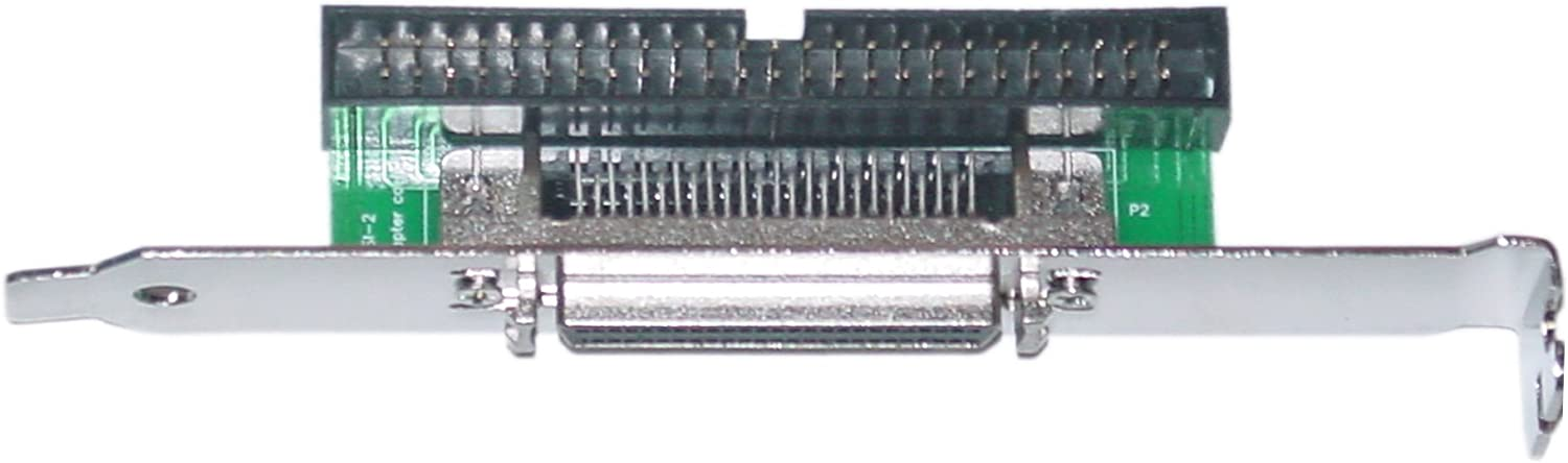 SCSI Computer Slot Adapter Internal IDC 50 Male Seasonal Wrap Introduction to Max 87% OFF External HPD