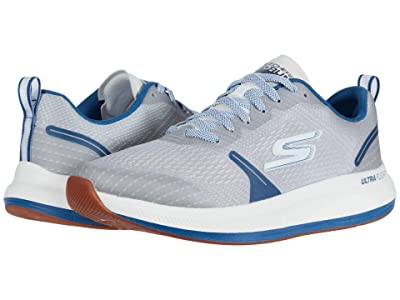SKECHERS Go Run Pulse (Grey/Blue) Men