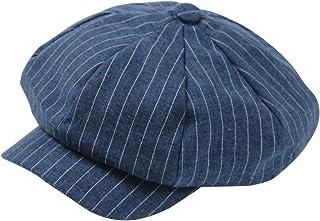 ZLS Women's Retro Peaked Ivy Newsboy Paperboy Gatsby Cabbie Painter Cap Hats